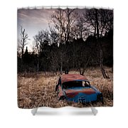 1956 Chevy Shower Curtain