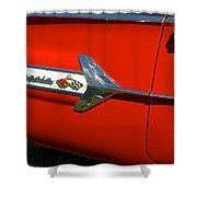 1960 Chevy Impala Convertable Shower Curtain