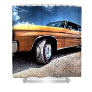 1972 Chevelle Shower Curtain