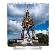 Albert Memorial Shower Curtain