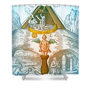 Alchemy Shower Curtain