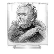 Amelia A. B. Edwards Shower Curtain