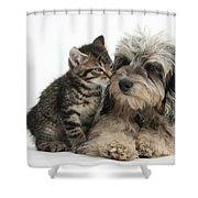 Animal Friends Shower Curtain