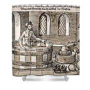 Archimedes (c287-212 B.c.) Shower Curtain