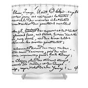 Arthur Rimbaud (1854-1891) Shower Curtain