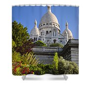 Basilique Du Sacre Coeur Shower Curtain
