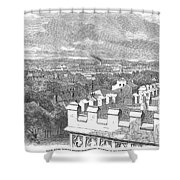 Baton Rouge, 1862 Shower Curtain