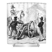 Battle Of Buena Vista Shower Curtain