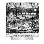 Battle Of Shiloh, 1862 Shower Curtain