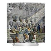 Belshazzars Feast Shower Curtain