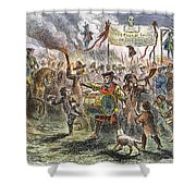 Boston: Stamp Act Riot, 1765 Shower Curtain