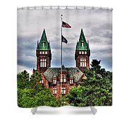 Buffalo Psychiatric Center Shower Curtain