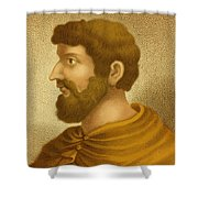 Callimachus, Greek-libyan Poet Shower Curtain