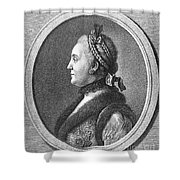 Catherine II (1729-1796) Shower Curtain