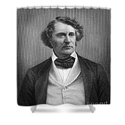 Charles Sumner (1811-1874) Shower Curtain by Granger