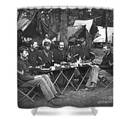 Civil War Soldiers Shower Curtain