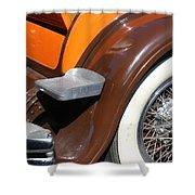 Classic Antique Car- Detail Shower Curtain