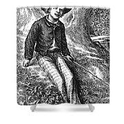 Clemens: Tom Sawyer Shower Curtain
