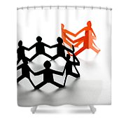 Conceptual Situation Shower Curtain