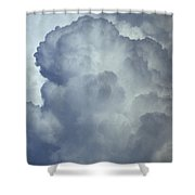 Cumulonimbus Clouds Shower Curtain