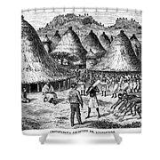 David Livingstone (1813-1873) Shower Curtain