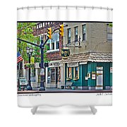 Downtown Willoughby Shower Curtain