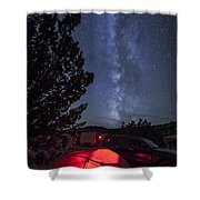 Eurocopter Ec135 Utility Helicopter Shower Curtain