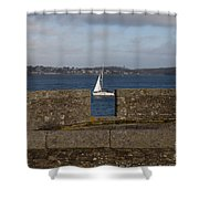 Falmouth Harbour  Shower Curtain