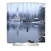 First Dawn Shower Curtain