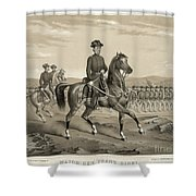 Franz Sigel (1824-1902) Shower Curtain