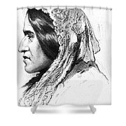 George Eliot (1819-1880) Shower Curtain