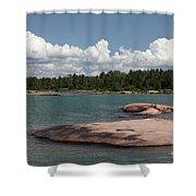 Georgian Bay, Canada Shower Curtain