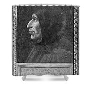 Girolamo Savonarola Shower Curtain
