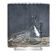Glass Shower Curtain by Nailia Schwarz