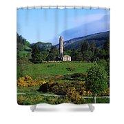 Glendalough, Co Wicklow, Ireland Shower Curtain