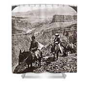Grand Canyon: Sightseers Shower Curtain