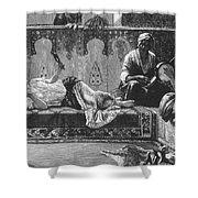 Harem Shower Curtain by Granger