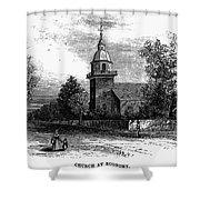 Harmony Society, 1875 Shower Curtain