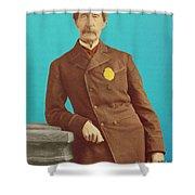 Henry Bergh, American Founder Of Aspca Shower Curtain