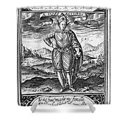 Henry IIi (1551-1589) Shower Curtain