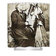 Henry Ward Beecher Shower Curtain by Granger