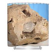 Herkimer Diamond Shower Curtain