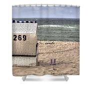 Hoernum - Sylt Shower Curtain by Joana Kruse