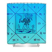 Horoscope Types, Engel, 1488 Shower Curtain