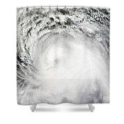 Hurricane Ike Shower Curtain