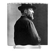 James A. Garfield, 20th American Shower Curtain