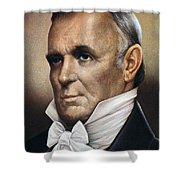 James Buchanan (1791-1868) Shower Curtain