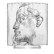 James Joyce (1882-1941) Shower Curtain