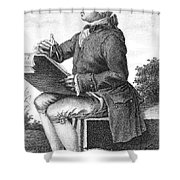 Jean Le Rond D Alembert Shower Curtain