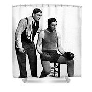 Jess Willard (1883-1968) Shower Curtain